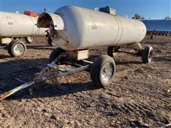 1000 Gallon Anhydrous Tank On Running Gear