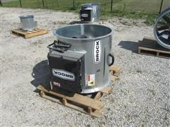 "2011 Brock AXH28-LP 28"" Axial Bin Heater"