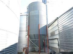 Free-Standing 1000 Bushel Vertical Grain Bulk Bin