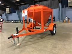 2020 Shop Built 1-Ton Bulk Feed Trailer