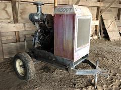 Case IH 6590T Power Unit W/Lima Generator On Cart