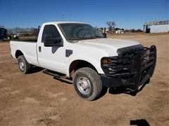 2009 Ford F250 4x4 Long Bed Pickup