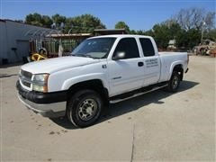 2003 Chevrolet 2500 HD 4x4 Extended Cab Pickup