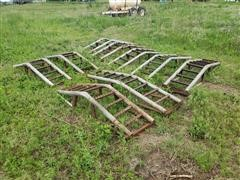 Irrigation Pipe Pivot Bridges