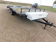 Shop Built T/A Car Hauler Trailer