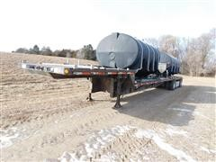 1995 Aztec T/A Drop Deck Fertilizer Trailer