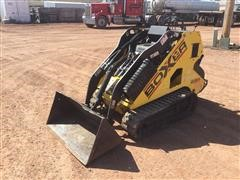 2007 Boxer 530X Stand-On Track Loader W/Bucket, Trencher & Fork