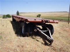 T/A Flatbed Trailer With Dolly