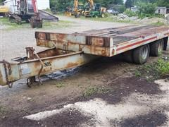 1985 Interstate T/A Flatbed Trailer