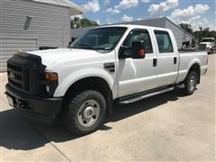 2008 Ford F250XL Super Duty 4x4 Crew Cab Pickup