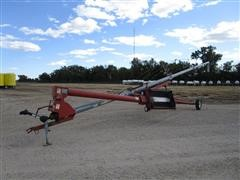 "Hutchinson Mayrath 8""X60' Auger W/Swing Away Hopper"