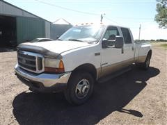 2000 Ford F350 4x4 Crew Cab Dually Pickup