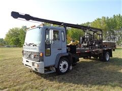 1997 Volvo FE6 Cabover S/A Digger Derrick Truck