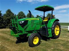 2014 John Deere 6115M 2WD Tractor