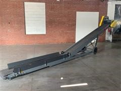 Rapat CU81418 23' Electric Unloader Conveyor For Trains/Trailers