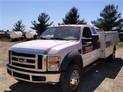2010 Ford F450XLT Super Duty Service/Utility Pickup