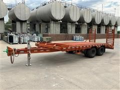 1997 Duo Lift 25' T/A Flatbed Trailer
