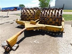 1964 Wichita Steel WSD60120N Tow-Type Double Drum Sheepsfoot Roller