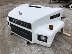 Mack Truck Fiberglass Hood W/Accessories
