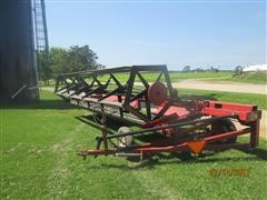 International 75 Pull-Type Swather Windrower w/ Bat Reel & Draper Gatherer