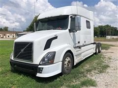 2008 Volvo VNL64T T/A Truck Tractor W/Mid-Roof Sleeper