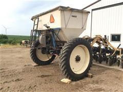 Remlinger Strip-Till Applicator & Montag 7-Ton Steerable Cart