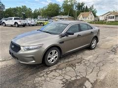 2013 Ford Taurus Interceptor Car