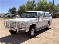 1987 Chevrolet Custom Deluxe 20 4x4 Suburban