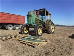 1967 John Deere 4020 Propane 2WD Tractor For Parts