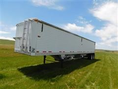 2010 Timpte Super Hopper 4268 T/A Aluminum Grain Trailer