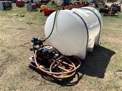 Truck Mount Spray Tank W/Honda Engine & Pump