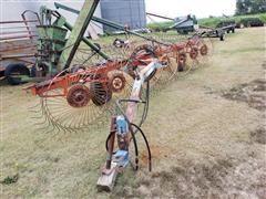 Lely 4-1080 6 Wheel Rake