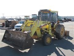 1995 Ford 545D MFWD Tractor W/Front End Loader & Box Blade
