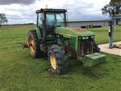 John Deere 8400 MFWD Tractor (FOR PARTS ONLY)