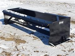 2020 Wemhoff SB-8 8' Snow Pusher/Box Scraper Skid Steer Attachment