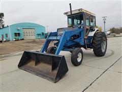 Ford 8000 2WD Tractor W/Koyker Loader