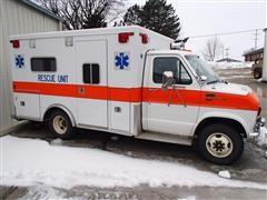 1985 Ford Econoline 350 XL Rescue Unit