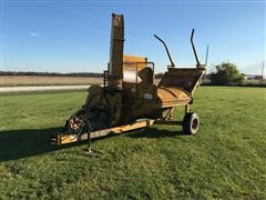 DuraTech Haybuster 2554 Round Bale Processor