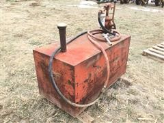 120-Gal Fuel Transfer Tank W/Hand Pump
