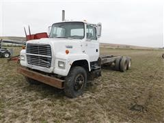 1988 Ford F8000 T/A Cab & Chassis