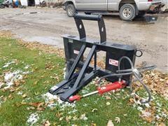2020 Industrias America Tree/Post Puller Skid Steer Attachment