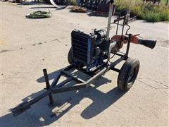 Isuzu 3KC1 Motor Irrigation Motor/Portable Pump