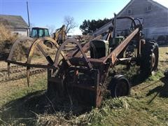 Oliver 88 2WD Tractor W/Farmhand Loader