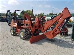 2000 Ditch Witch 5110 Trencher w/Backhoe Attachment