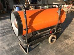 Dayton Portable Oil-Fired 650,000 BTU Heater