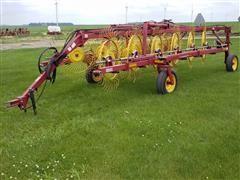 New Holland HT154 12 Wheel Rake