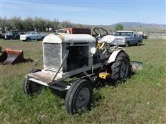 1947 Jeep Empire 2WD Tractor W/Blade