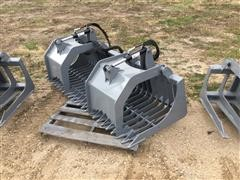 2016 Hawz Heavy Duty Rock & Brush Grapple