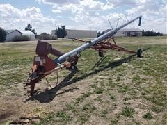 1998 Hutchinson Mayrath 10X72 Swing-Away Auger