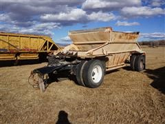 1966 Load King 27-F Pup Belly Dump Trailer
